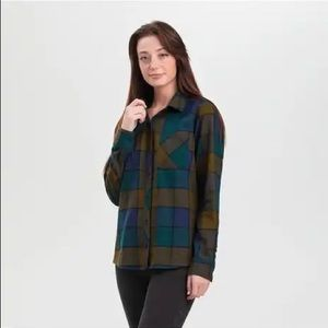 Outdoor research brand new flannel cozy shirt